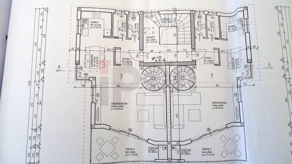 Apartment, 145 m2, For Sale, Malinska