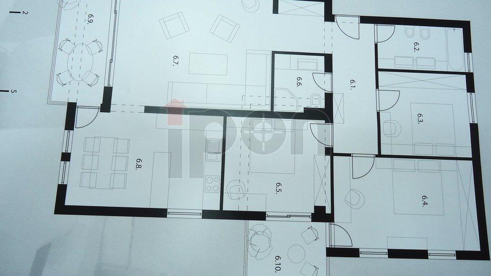 Rešetari, vrlo elegantan 3S+DB i najljepši stan zgradi !