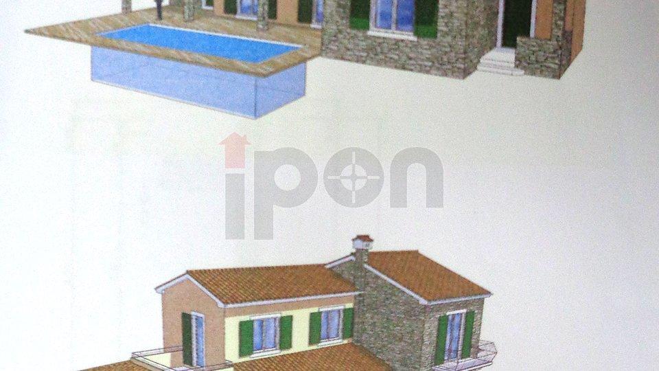 Bregi-Kožuli, građevinsko zemljište za izgradnju kuće sa  plaćenim komunalijama