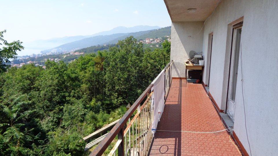 Matulji, etaža kuće na 1 katu sa pogledom na Opatiju  i more !