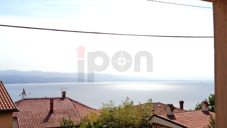 Opatija, samostojeća kuća sa pogledom na more
