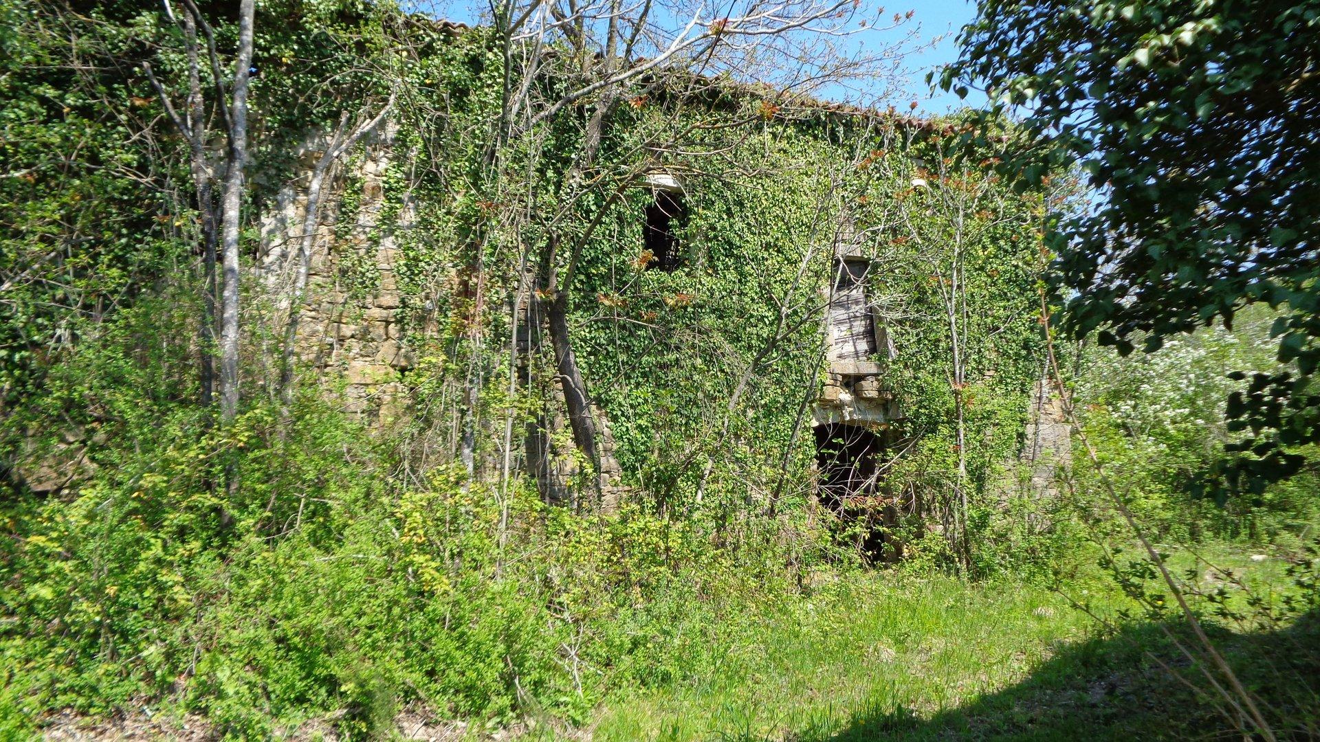 Pićan-okolica, ruševine, 4 kuće