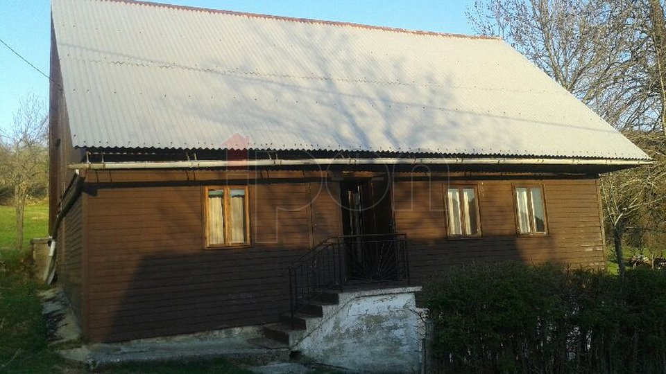 House, 88 m2, For Sale, Ravna Gora - Stari Laz