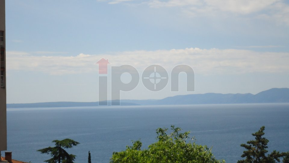 Krimeja 2S+DB, balkon, pogled na more