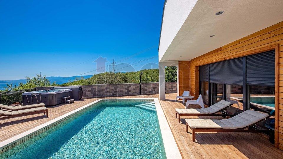 Kostrena, nova moderna kuća sa bazenom