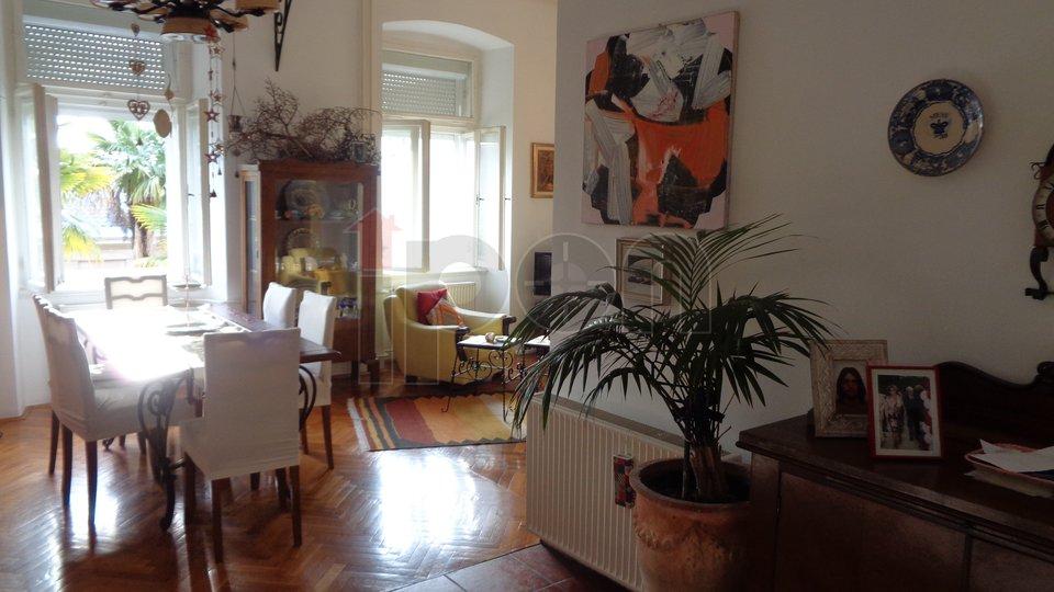 Bulevard, dvoetažni stan u vili, dio okućnice na korištenje !