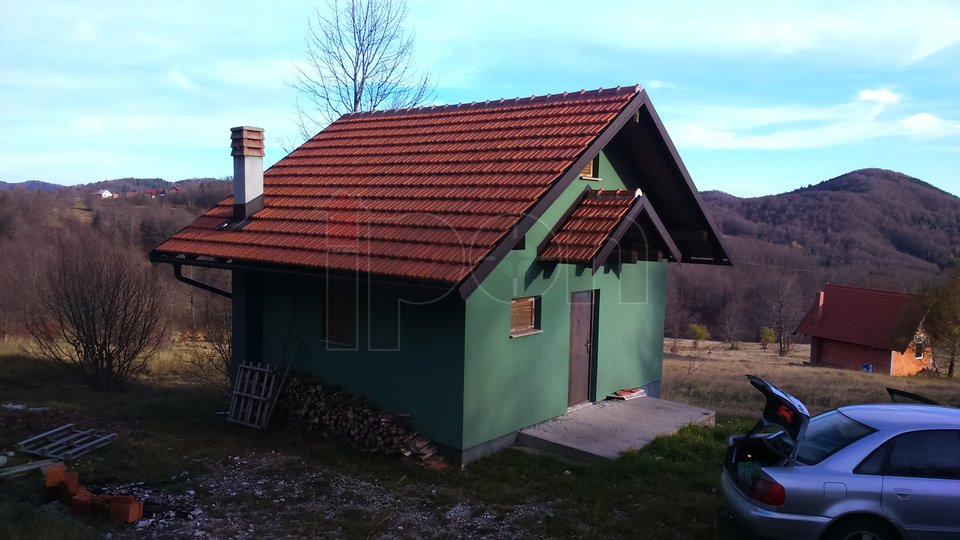 House, 60 m2, For Sale, Mrkopalj