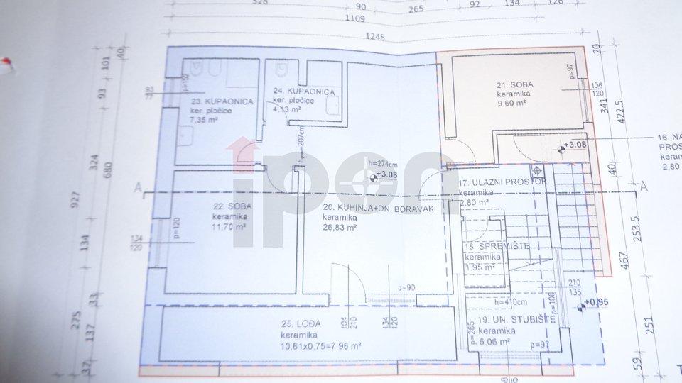 G.Vežica, uređena samostojeća kuća sa 3 stana i garažom !