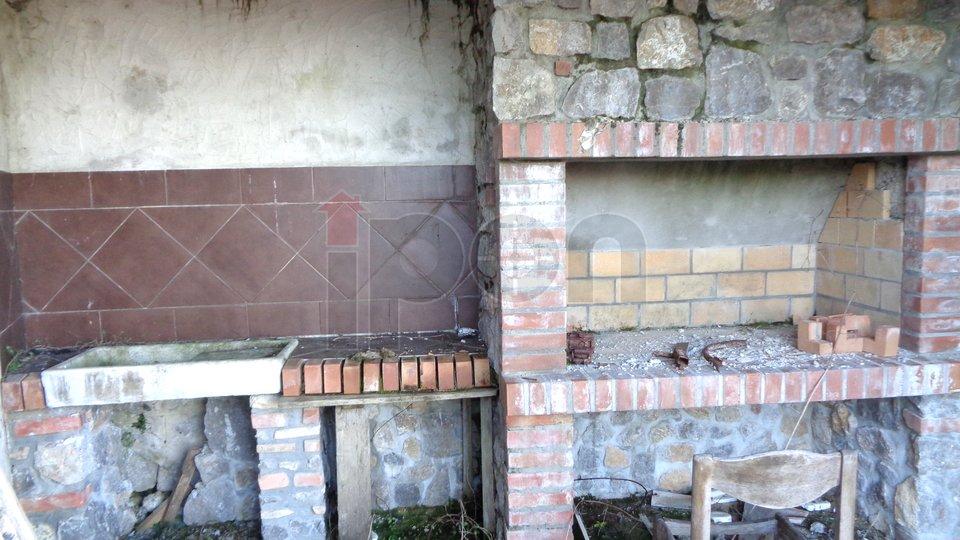 Rukavac-okolica, renovirana kamena kuća na obroncima Učke. PRILIKA !