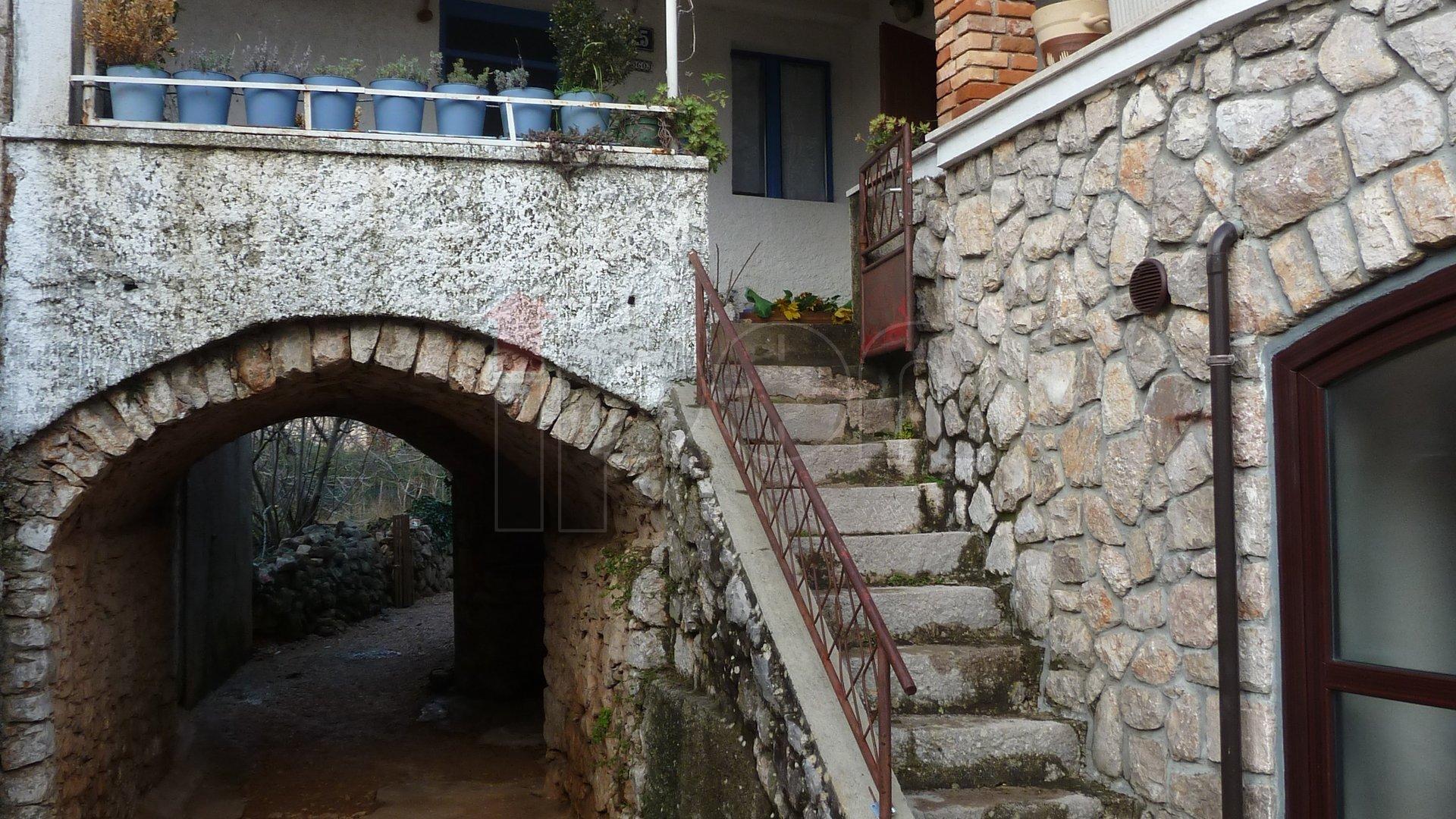 House, 45 m2, For Sale, Dobrinj - Klimno