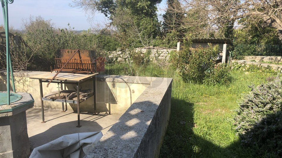 Labin, Raša, okolica, stara kamena kuća, vikendica s pogledom na more!