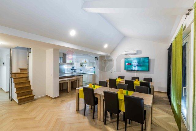 Krk, Čižići, vrhunski 4S+DB, apartmans velikom terasom, pogled na more, luksuzno opremljen!
