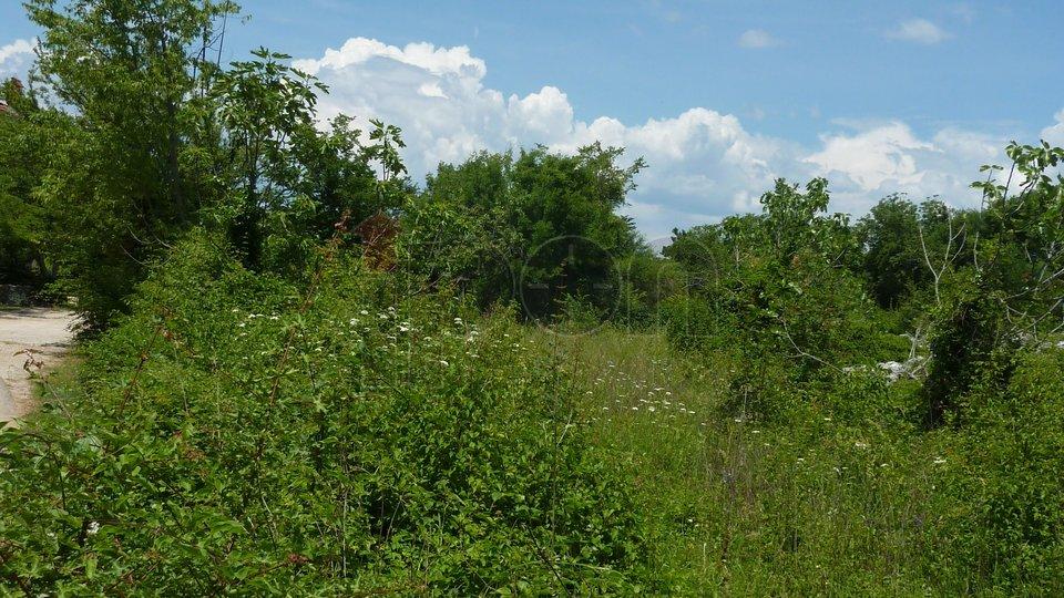Land, 1408 m2, For Sale, Dobrinj - Gabonjin
