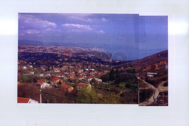 Rukavac, dva zemljišta, započeta gradnja za dvije obiteljske kuće, fantastičan panoramski pogled!